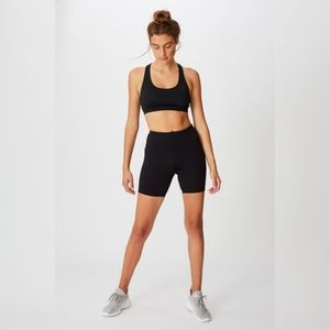Cotton on Body double back yoga crop top